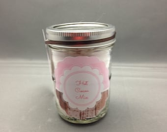 Mason Jar Hot Cocoa Mix