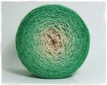 Safari* Merino silk Gradient Yarn hand dyed - Lace weight