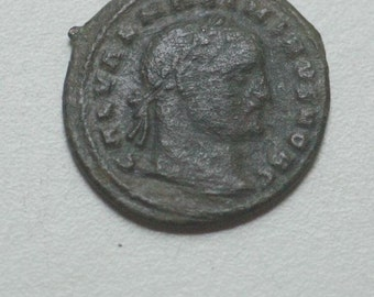 Ancient Coins, Maximinus II, AE Follis, 308,  coin, gifts for men, value, gift, present, nero, rulers, currency, roman coins