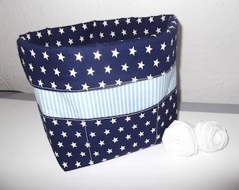 Punnets fabric basket bath basket bread basket