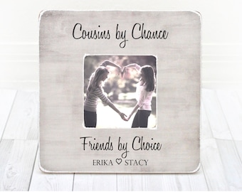 ... gift for cousin cousin picture frame cousin gift idea holiday gift