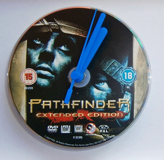 DVD Clock - Pathfinder - Karl Urban Clancy Brown Moon Bloodgood Russell Means New