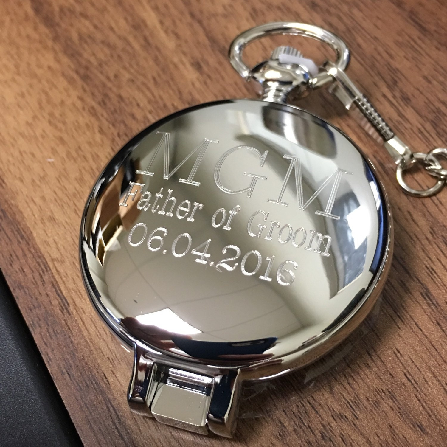 Personalized pocket watch set groomsman gift groomsman for Watches engraved