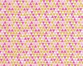 Arrived! Wander Triangles Rosetta by Joel Dewberry PWJD118.ROSET Triangles, Fuchsia, Pink, Maize, Gold, Mustard