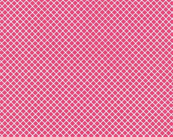 Robert Kaufman by Ann Kelle Remix Diamonds Hot Pink (Half metre)
