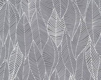 Robert Kaufman - In the Bloom Leaves Charcoal (Half metre)