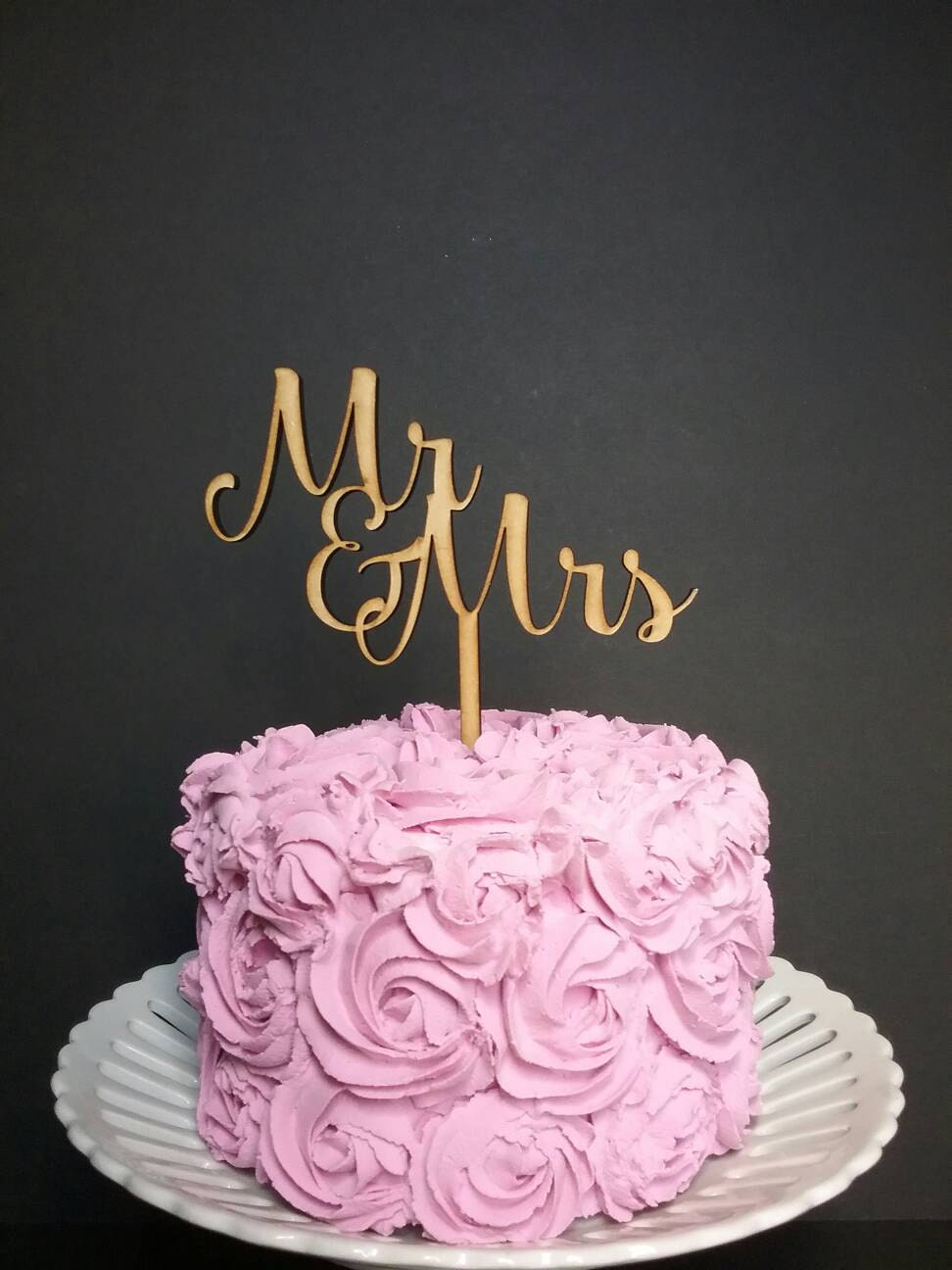 mr and mrs wedding cake - mr and mrs wedding cake topper classic mr ...