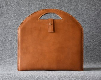 Leather MacBook Air Sleeve, Leather MacBook Case, MacBook Air Laptop Case