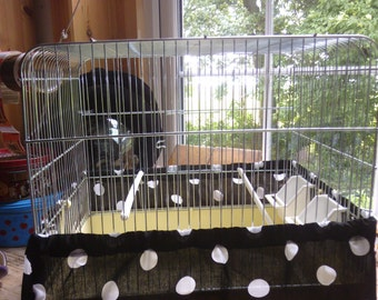 Bird cage tidy cover