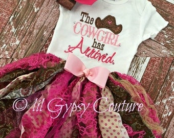the cowgirl has arrived boutique girls take home outfit