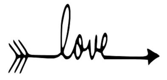 1579+ Love Arrows Svg Zip File