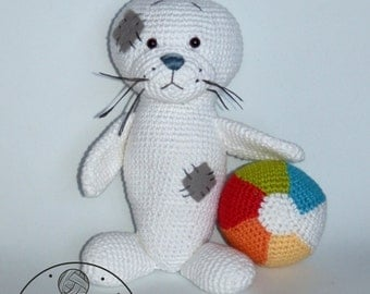 Seal - crochet PDF pattern