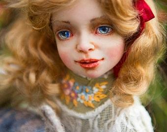 "OOAK art doll  ""Alice in wonderland""  by Elena Balaksheva Dollena"