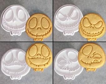 The Nightmare Before Christmas Jack Skellington Cookie Cutter Set