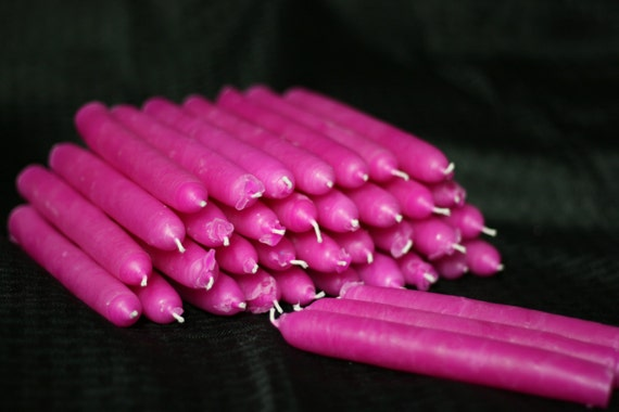 Wax play candles - pink