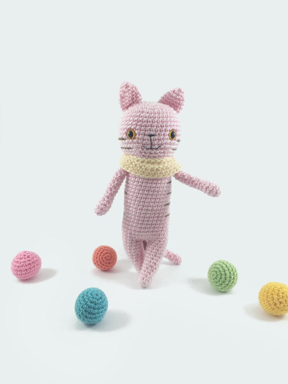 Crochet Cat Amigurumi Cat Crochet Doll Crochet Animal