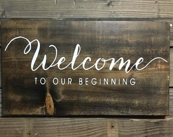 Wooden Wedding Welcome Sign, Wedding Sign, Rustic Wedding Sign, Wedding Decor, Reception Decor, Wooden Wedding Sign, Country Wedding