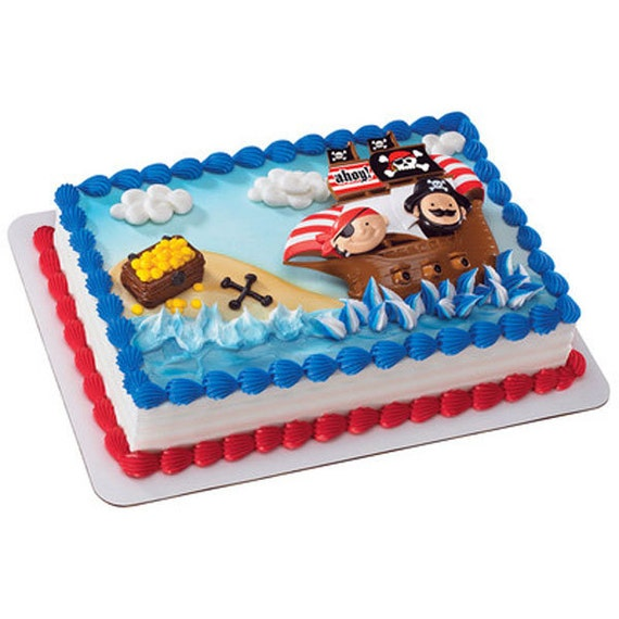 Little Pirates Cake Decorating Kit Topper by ...