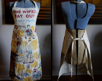 "Funny ""Wife's Day Off"" Vintage Apron"
