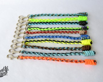 """8"""" Paracord Dog Obedience Tab"""