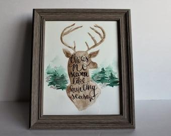 Hunting Season Illustration - Digital File