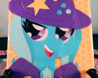 "Trixie Papercraft 4"" x 4"" Canvas"