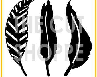 The Fancy Feathers cut file includes 3 feather images, that can be used for your scrapbooking and papercrafting projects.