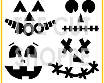 The Hey Jack cut file set includes 4 jack o lantern images, that can be used for your scrapbooking and papercrafting projects.
