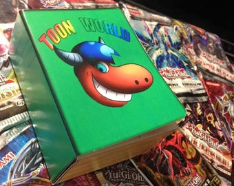 Yugioh Paper Deck Box - Toon World Deck Box!