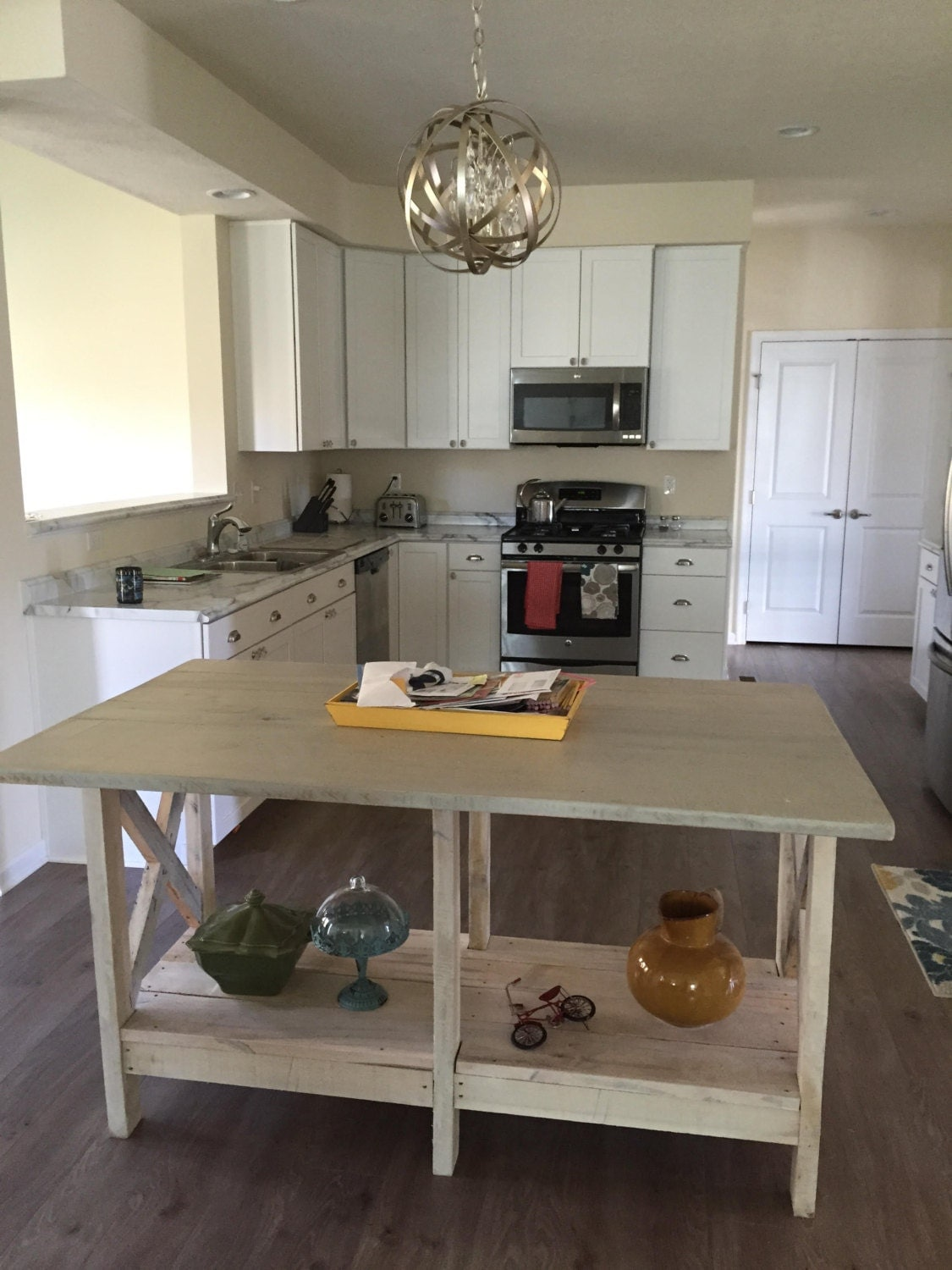 Repurposed Kitchen Island Kitchen Island Etsy