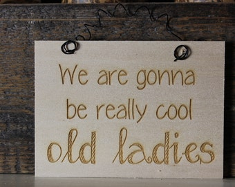 wooden sign, small wood sign,laser engraved,custom,humor,funny,stocking stuffer,work sign,doorknob hanger,wood sign, wooden sign, mini sign