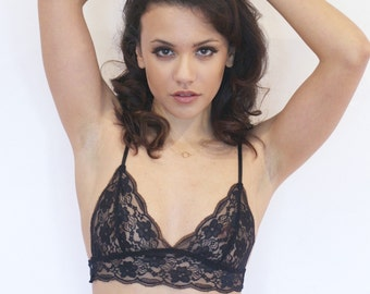 Lace soft Bralet