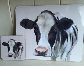 Cow Farm Animal Placemat/Coaster