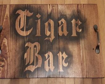 Cigar Bar Tray