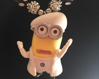 The Artist Minion! Minion gumball necklace