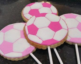 Soccer cookies