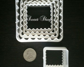 6 Pcs. Double sided Square cutter