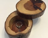 Redwood Ring Box