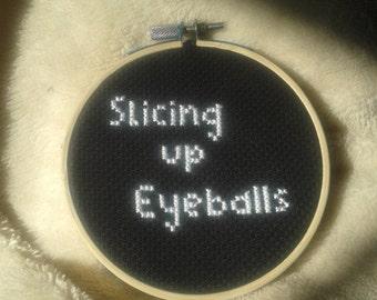 Lyric Cross Stitch