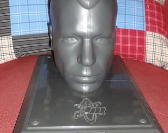 Collectible Plastic Head Display