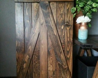Reserved - Wooden Shutters - Barnwood Style Shutters  - Interior -Exterior - Decorative Shutters - Rustic Home Decor