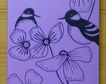 Hand Illustrated small Notebook,