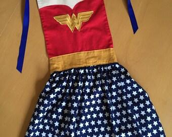 Wonder Woman inspired apron