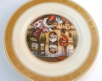 Vintage Royal Copenhagen Hans Christian Andersen The Steadfast Tin Soldier Plate.