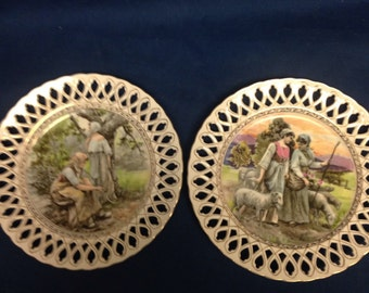Decorative Plates - Pair