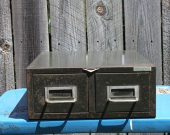 Cole Steel Double File Cabinet Drawer