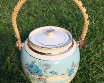 Antique Biscuit Barrel  by Sadler