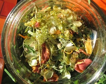 Feuille d'automne - Fall herbal tea with hop and squash (pumpkin); tasty, relaxing and creamy (15g)