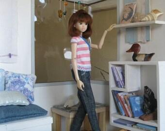 Ocean: hand crafted room box/diorama 1/6 scale for blythe, momoko, fashion royalty, barbie, obitsu