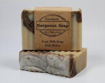 Irish Rover Goat Milk Soap - All Natural Soap, Handmade Soap, Homemade Soap, Handcrafted Soap